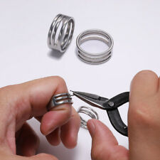 Stainless Steel Jump Ring Open Closing Finger DIY Jewelry Making Finding Tool