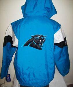 CAROLINA PANTHERS Starter Hooded Half Zip 100 Year NFL Annivers Jacket S M L XL