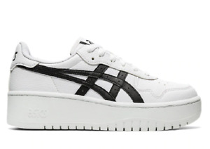 ASICS 1202A024.100 JAPAN S PF Wmn`s (M) White/Black Leather Athletic Shoes