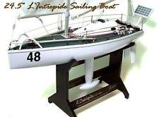 Nkok 32548 L'Intrepide 1:25 Scale Rc Transatlantic Racing Sailboat Never Used!