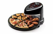 Rotating Pizza Oven Pizzazz Wings Maker Non Stick Cooker