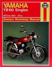 0474 Haynes Yamaha YB100 Singles (1973 - 1991) Workshop Manual