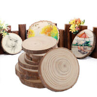Natural Wood Slices DIY Paint Craft Home Party Wedding Decoration  Accessorie_ti
