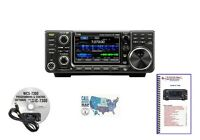Icom IC-7300 100W HF Touch Screen Transceiver and Accessories Bundle!!