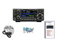 Icom Ic-7300 100W Hf Touch Screen Transceiver and Accessories Bundle!
