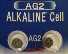 Beaky AG2 L726 LR59 396 Alkaline Battery 1.5v [2-Pack]