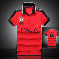 f5a29c193 Men s Short Sleeve Polo T Shirt RL RACING UK USA ITALY FRANCE UAE Uniforms  Shirt