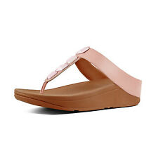 FitFlop Roka Toe-thong Sandals Uk8 Dusky Pink