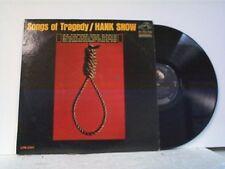 "HANK SNOW ""SONGS OF TRAGEDY"" LP  MINT"