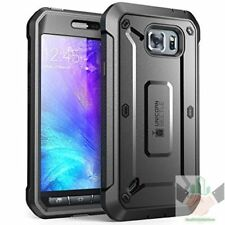 Samsung Galaxy S6 ACTIVE Case Full Body Rugged Holster Built-in Screen Protector