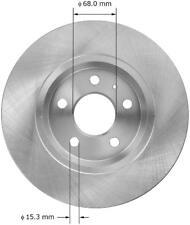 Disc Brake Rotor-Sedan Rear Bendix PRT5993