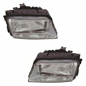 NEW HEAD LAMP HEADLIGHT VALEO TYPE for AUDI A4 4D/WAGON 1995 - 1999 LEFT + RIGHT