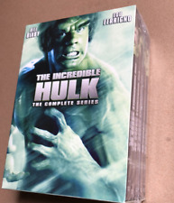 The Incredible Hulk - The Complete Series (2017, Dvd, 20-Disc Set)