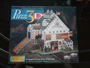 Puzz3D Peppercricket Farms 3D Puzzle - Charles Wysocki's Americana - Brand NEW