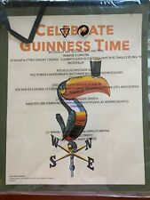 Lot of 7 Guinness Beer Banner, Celebrate Guinness Time Large Paper Tie Banners