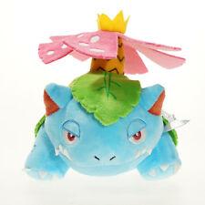 Cute Pokemon Center Plushie Mega Venusaur Plush Doll 6 Inch Stuffed Toy Kid Gift