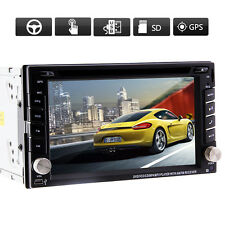 "Windows UI Double 2Din 6.2"" GPS Car DVD Player NAVI Stereo BT iPod USB SD"