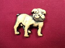 Vintage Dorset Boston Aussie French English Bull Dog Puppy Brooch Pin
