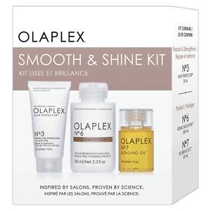 Olaplex smooth and shine kit, New, Authentic No 3 + No 6 + No 7
