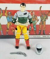Original 1987 GI JOE BACKSTOP V1 UNBROKEN Complete figure PERSUADER DRIVER