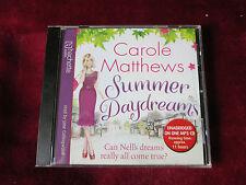 CAROLE MATTHEWS - SUMMER DAYDREAMS - MP3 AUDIO BOOK CD