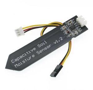 Kapazitiver Feuchtigkeitssensor Bodenfeuchte Erde Arduino Raspberry Pi DE