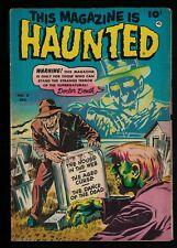 This Magazine Haunted comic Golden age Horror  8 1952 5.5 FN- Fawcett house web