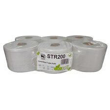 2ply Centre-Pull Toilet Rolls (6 x 200m) to fit Lotus Smartone Dispensers