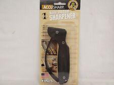 AccuSharp Knife Tool Blade Sharpener Black ACC008