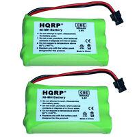 Pack de 2 HQRP Batterie Téléphone sans Fil pour Uniden Powermax 30878864022 Ge