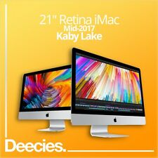 "NUOVO 2017 Retina Apple iMac 21"" 4k 3.4Ghz kaby Lake i5 16GB 512GB SSD Windows 10"