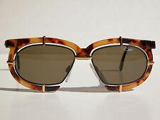 Cazal Vintage Eyeglasses - NOS- Model 871 - Col 723 - Gold & Amber