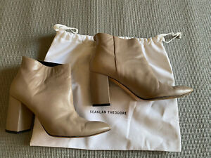 Scanlan Theodore ankle boots size 39, RRP $650