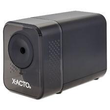 X-ACTO XLR Office Electric Pencil Sharpener, Charcoal Black 1818LMR
