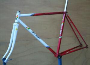 Vintage Belgian Ludo steel Track Pista frame frameset fixedgear 52cm
