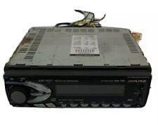 Alpine Cd Receiver Car Cdm 7861 Cd Shuttle Control 45 Watts Max Power Bass