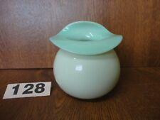 More details for vintage / antique stevens & williams green opaque glass jack in the pulpit vase