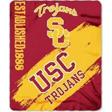 "USC Trojans Southern California 50"" x 60"" Painted Fleece Throw Blanket"