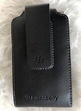 Blackberry Holster Case Black Leather Cell Phone cover Clip Bold Swelvet Belt