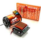 SKYRC 1870KV Brushless Motor 60A  ESC LED Program Card  for 1/10 1/12 RC Car