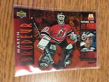 UPPER DECK HOCKEY 1995 MARTIN BRODEUR MCDONALD'S FUTURE ALL STAR CARD 35