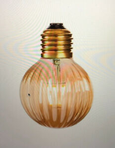 Firstlight Vintage 4W LED Decorative Amber Bulb 4916 ES Fitting