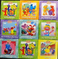 123 Sesame Street Elmo's Learning Adventure Set of 9! In Factory Shrink Wrap
