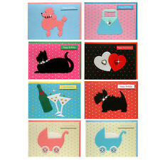 48 Special Occasion Handcrafted Greetings Cards with Gems EC0004