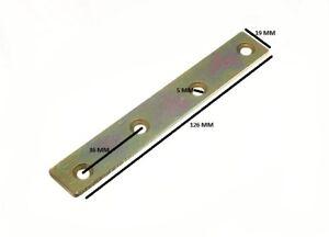 Flach Ausbessern Reparatur Verbindungsstück Platte 125mm X 19mm Yzp (Packung 24)