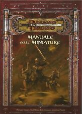 D&D - Dungeons & Dragons - Manuale delle Miniature - USATO Buono