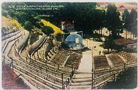 Vintage Catalina Island California CA Greek Amphitheater Avalon Postcard 1922