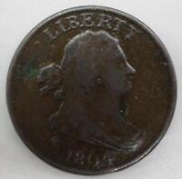 1804 Draped Bust Classic Head Half Cent 1/2¢ Very Good