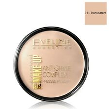 Eveline Cosmetics Anti Shine Complex Pressed Powder 31 Transparent Shade
