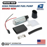 1 Set GSS342 255LPH High Pressure PSI Intake Racing Electric Fuel Pump Universal